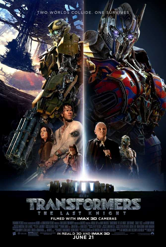 Transformers 5 Son Şövalye Film indir