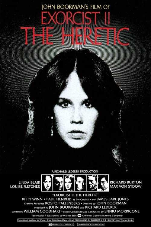 Exorcist II: The Heretic 1977 1080p Türkçe indir